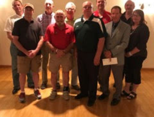 Wapakoneta Area Community Foundation met at the Wapakoneta FOE Aerie 691 with representatives from parks within the Wapakoneta City School District to distribute seven grants.