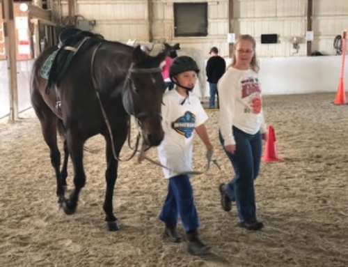 WACF awards a grant to The Equestrian Therapy Program at Fassett Farm.
