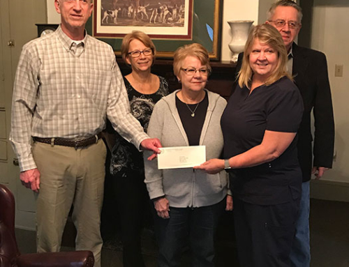 Wapakoneta Sister Cities program awarded a grant in the amount of $1,000.